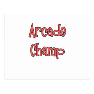 Arcade Champ by Chillee Wilson Postcard
