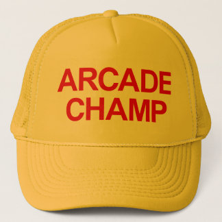 Arcade Champ Trucker Hat