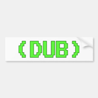 Arcade DUB shirt Bumper Sticker