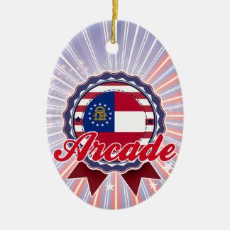 Arcade, GA Christmas Ornaments