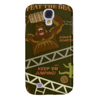 Arcade game propaganda poster - for your iPhone Galaxy S4 Cover
