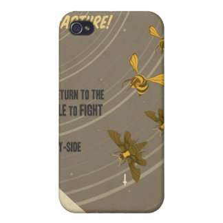 Arcade game propaganda poster - for your iPhone Cases For iPhone 4