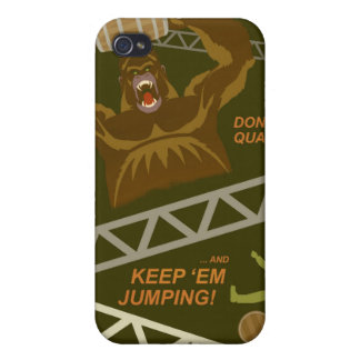 Arcade game propaganda poster - for your iPhone iPhone 4 Covers