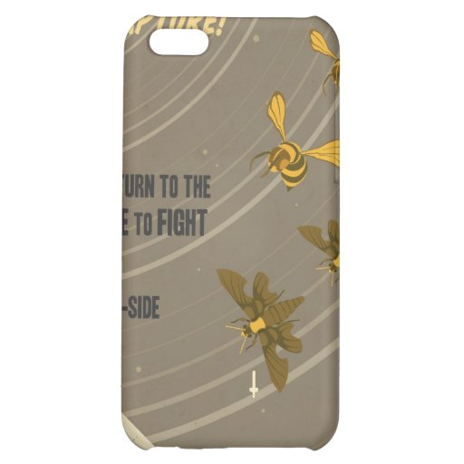 Arcade game propaganda poster - for your iPhone Case For iPhone 5C