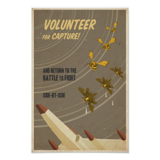 Arcade game propaganda poster- sixth in a series poster at Zazzle