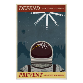 Arcade game propaganda poster- tenth in a series poster