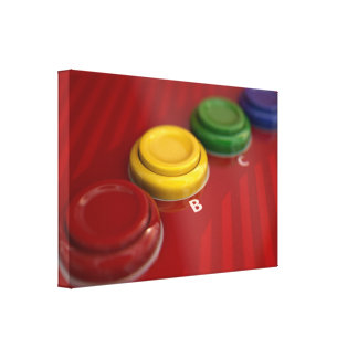 Arcade Machine Control Panel Canvas Print