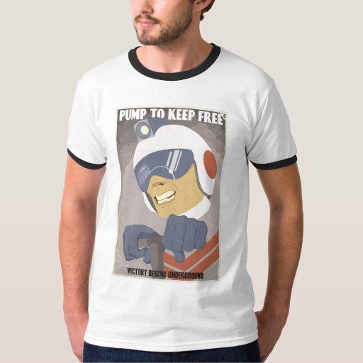 Arcade propaganda tshirt