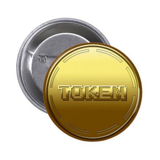 Arcade Token Button