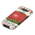 Arcadia Beauty Tomatoes, Vintage Fruit Crate Label Samsung Galaxy SIII Cover