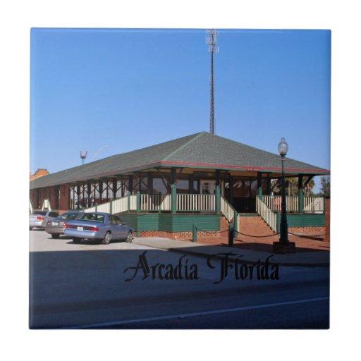 Arcadia la Florida Azulejos