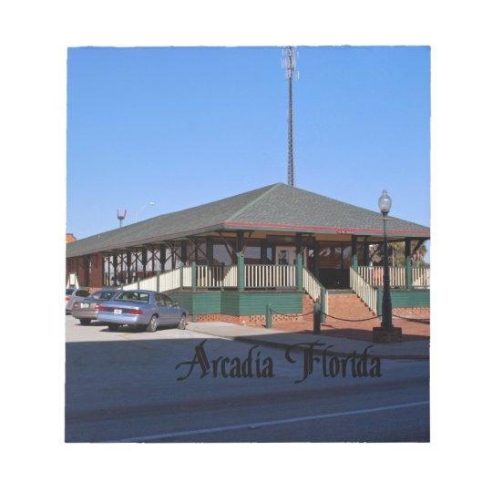 Arcadia la Florida Bloc De Notas