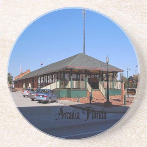 Arcadia la Florida Posavasos De Arenisca