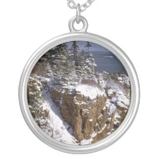 Arcadia National Park cliffs necklace
