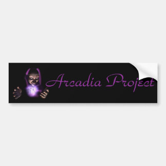 Arcadia Project Bumber Sticker