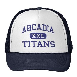 Arcadia - titanes - High School secundaria - Phoen Gorras De Camionero
