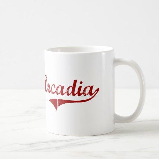 Arcadia Wisconsin Classic Design Mug