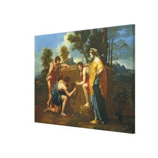 Arcadian Shepherds Canvas Print