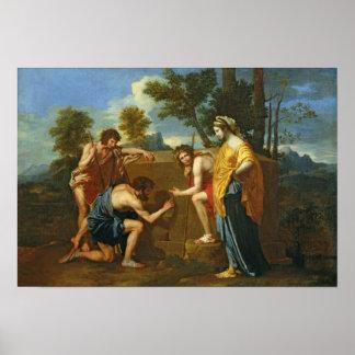Arcadian Shepherds Poster