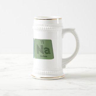 Arcana-Ar-Ca-Na-Argon-Calcium-Sodium 18 Oz Beer Stein