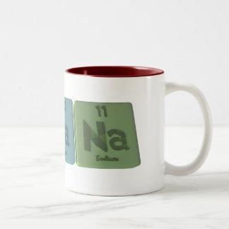 Arcana-Ar-Ca-Na-Argon-Calcium-Sodium Two-Tone Coffee Mug