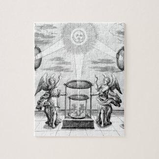 Arcana divinos de la alquimia rompecabezas con fotos