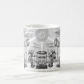 Arcana divinos de la alquimia tazas de café