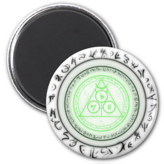 Arcane Mystic Shapes 2 Inch Round Magnet