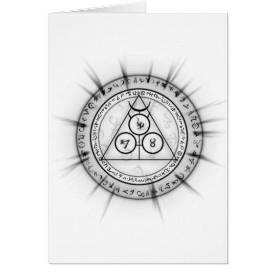 Arcane Mystic Shapes Card
