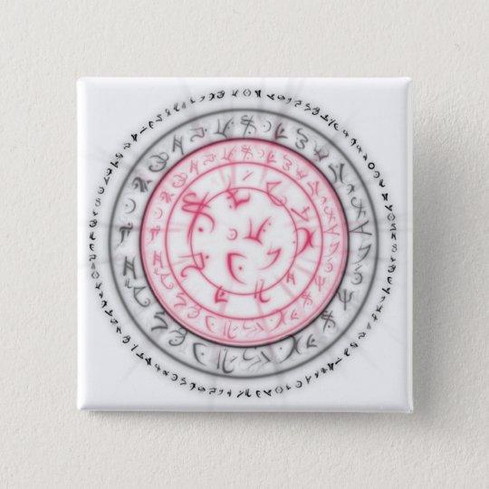 Arcane Mystic Shapes Pinback Button