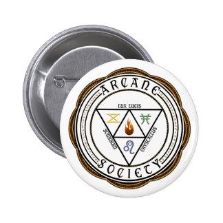 Arcane Society Button