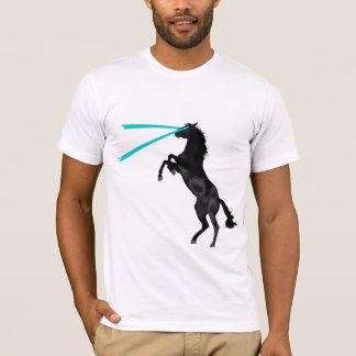 Arcángel del caballo del laser playera