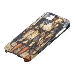 Arcángel del vintage, San Miguel de Burne Jones iPhone 5 Carcasas