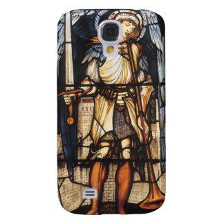 Arcángel del vintage, San Miguel de Burne Jones Funda Para Galaxy S4
