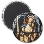 Arcángel del vintage, San Miguel de Burne Jones Imán Para Frigorífico