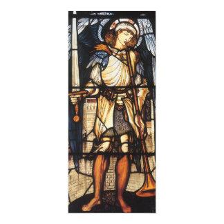 Arcángel del vintage, San Miguel de Burne Jones Invitación 10,1 X 23,5 Cm