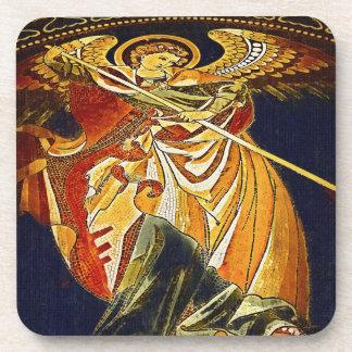 Arcángel Michael gótico, iglesia de Kaiser Wilhelm Posavasos De Bebida
