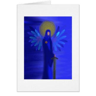 Arcángel Michael - protección divina Tarjeta De Felicitación