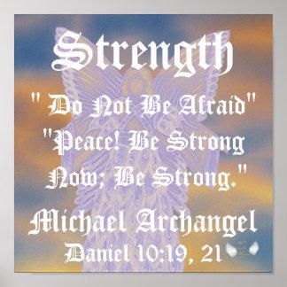Arcángel-Personalizar de Michael de la fuerza y de Impresiones