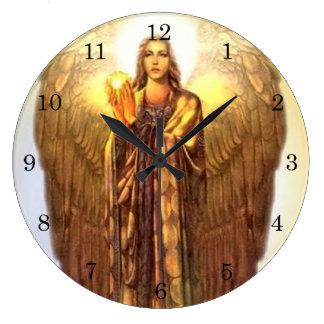 Arcángel Uriel Reloj De Pared