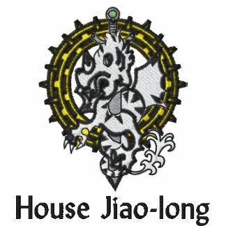 Arcanum del pacto: camiseta bordada Jiao-larga 1
