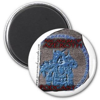 Arcanum Regalia 2 Inch Round Magnet