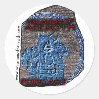 Arcanum Regalia Classic Round Sticker