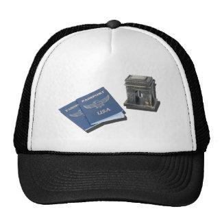 ArcDeTriomphePassports032215.png Trucker Hat