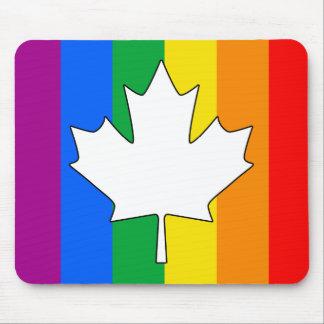 ARCE CANADIENSE DEL ORGULLO GAY ALFOMBRILLA DE RATONES