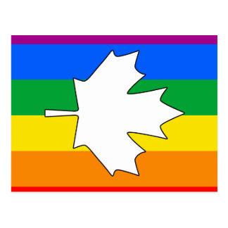ARCE CANADIENSE DEL ORGULLO GAY POSTALES