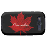Arce canadiense Hoja-Rojo Samsung Galaxy S3 Carcasa