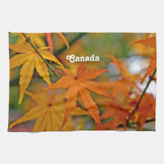 Arce canadiense toallas de cocina