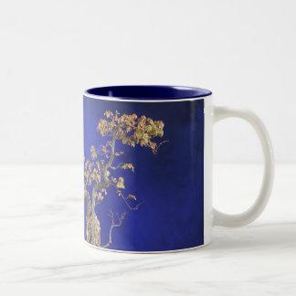 Arce de Trident de la taza/de los bonsais Taza De Dos Tonos