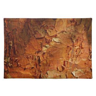 Arce Placemat de Paperbark Mantel Individual